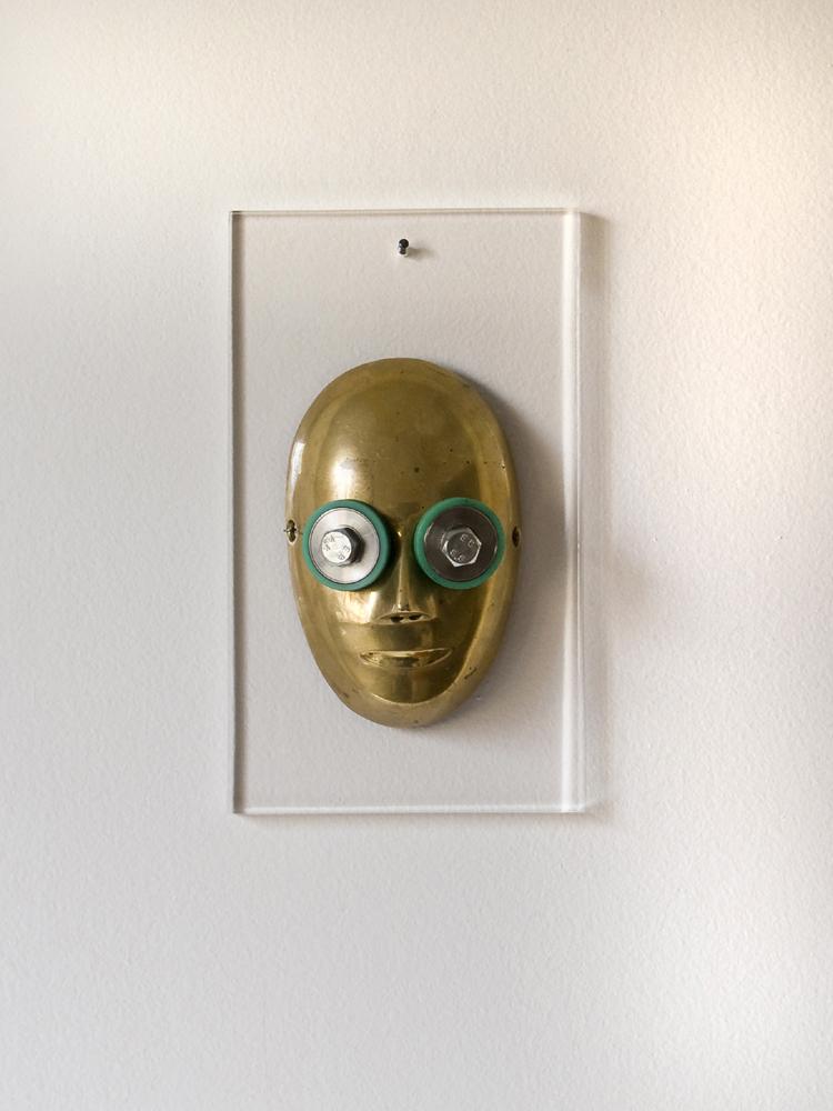 Mask, Self-portrait, 2016
