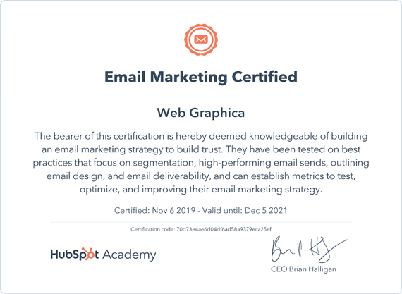 Studio-web-graphica-Email-Marketing-Certified-hub-spot-570x417