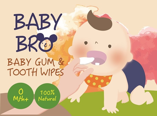 BABYBRO Baby Gum & Tooth Wipes