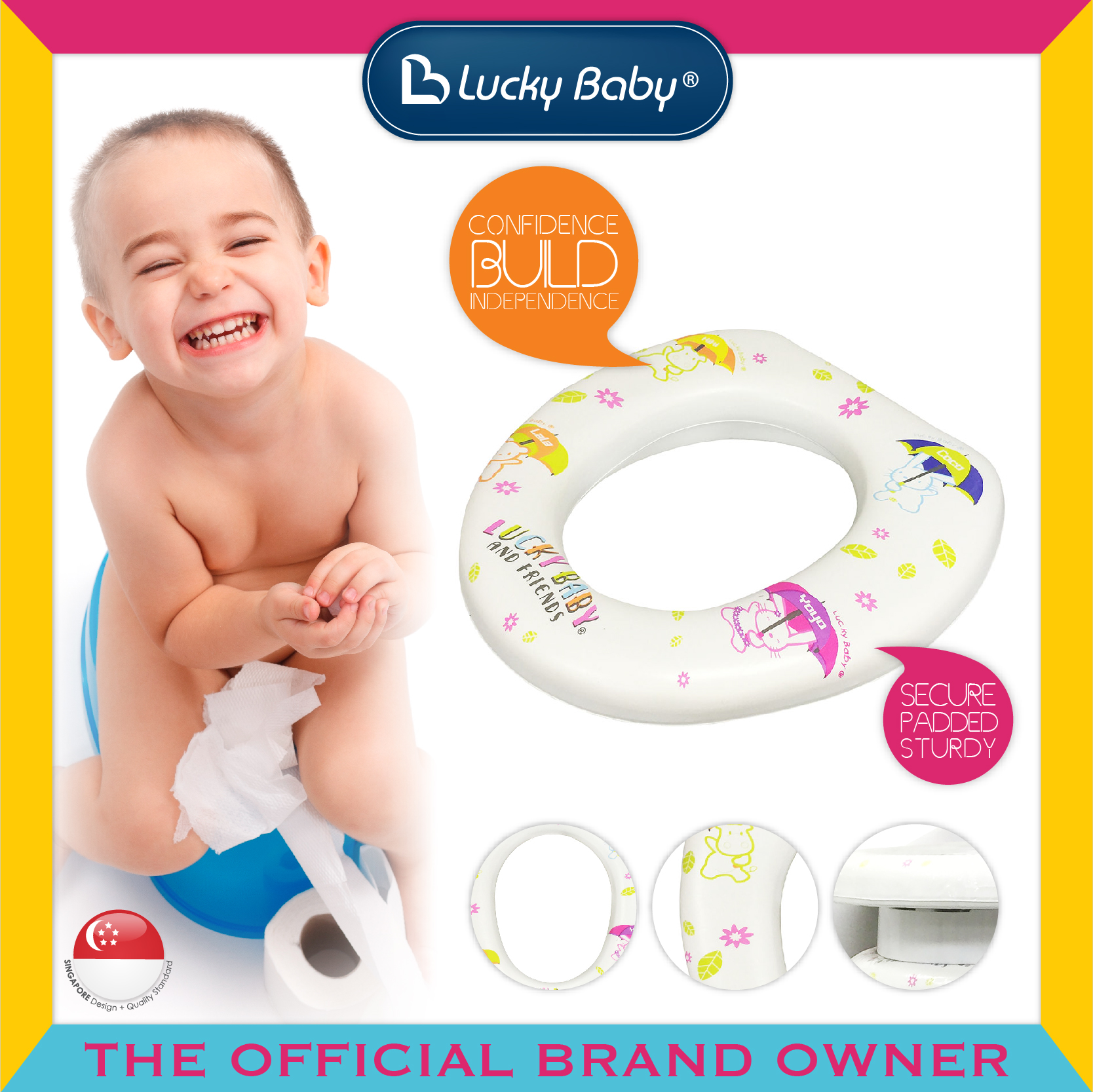 Lucky Baby® Spongy™ Potty Seat