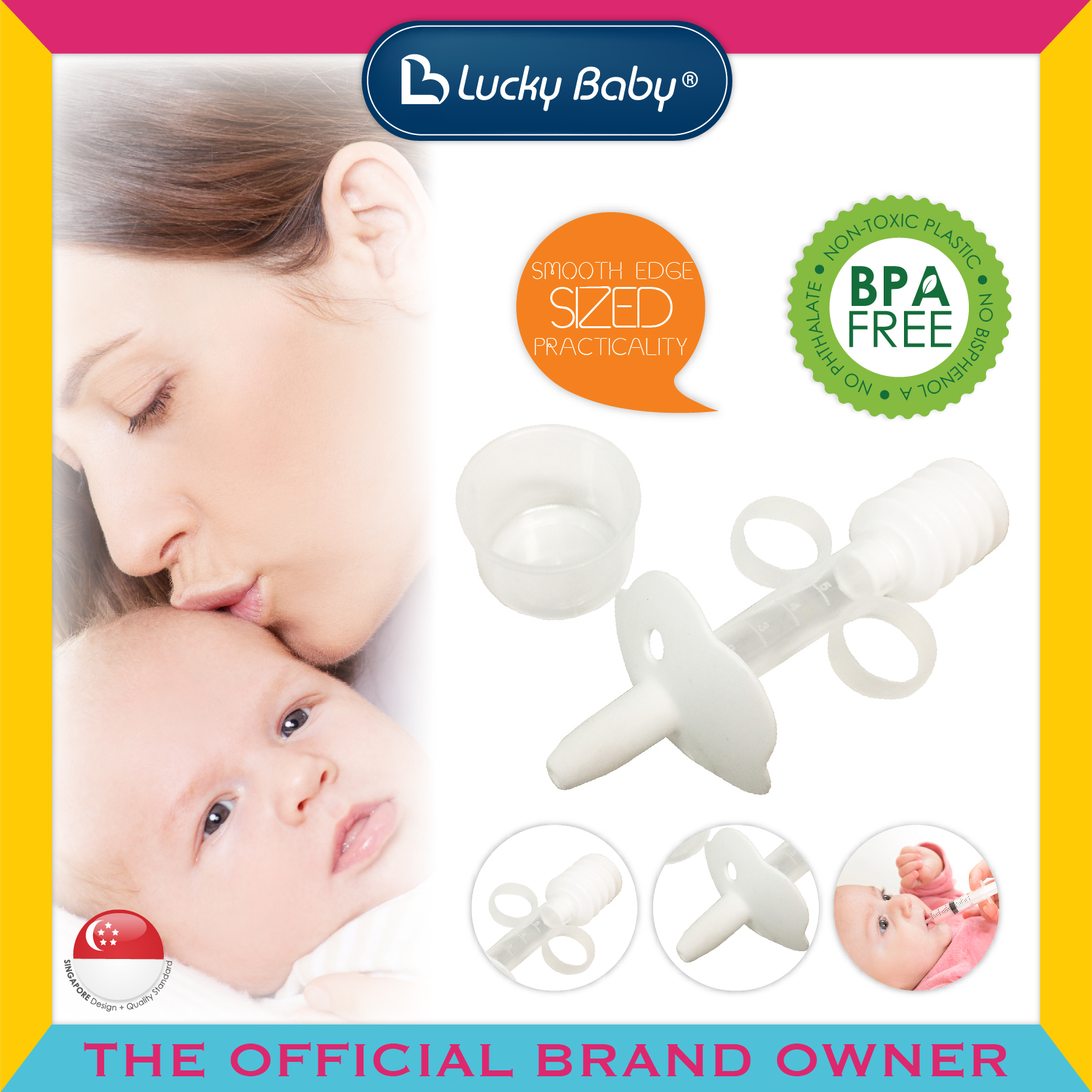 Lucky Baby® Safety™ Whiff Medicine Pump