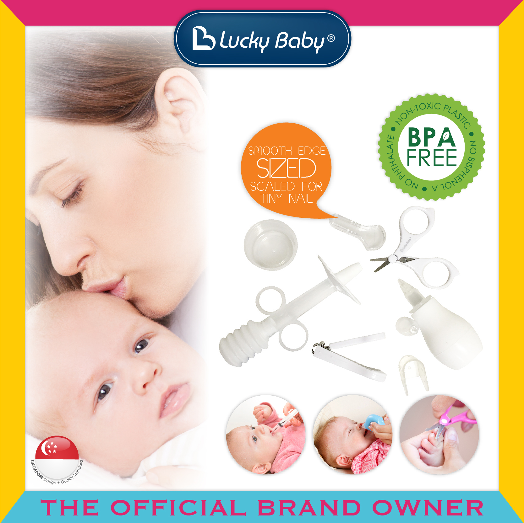 Lucky Baby® Kare™ Grooming Set
