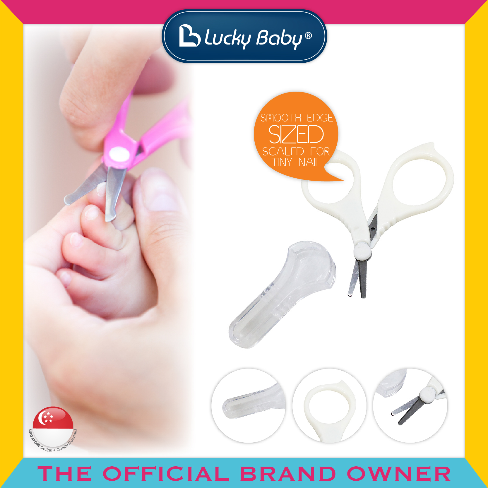 Lucky Baby® Primo™ First Nail Scissors