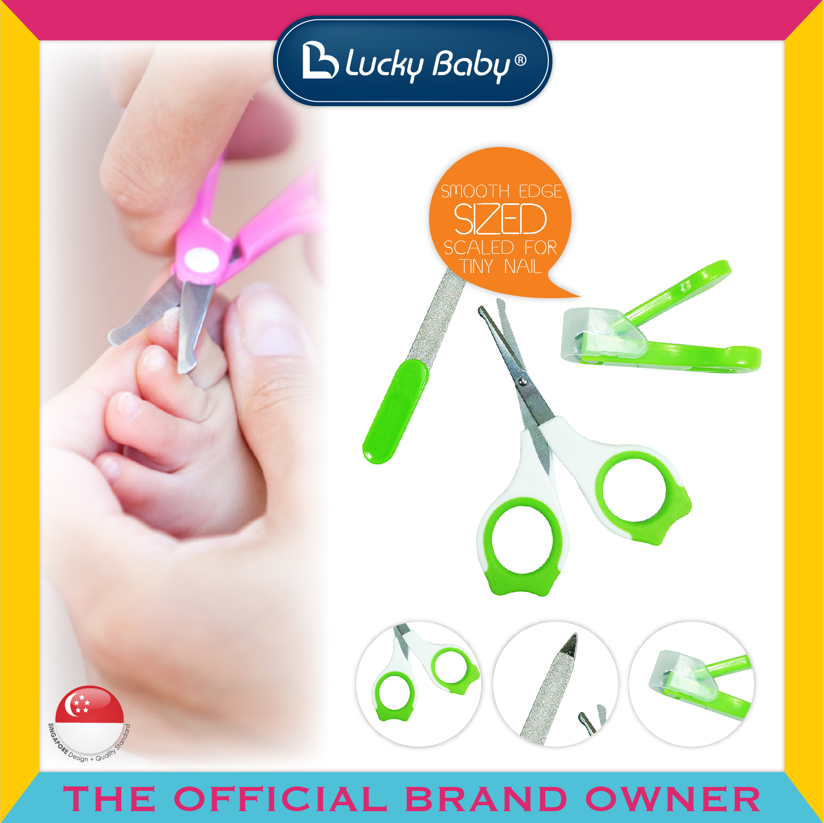 Lucky Baby® Novel™ Grooming Set