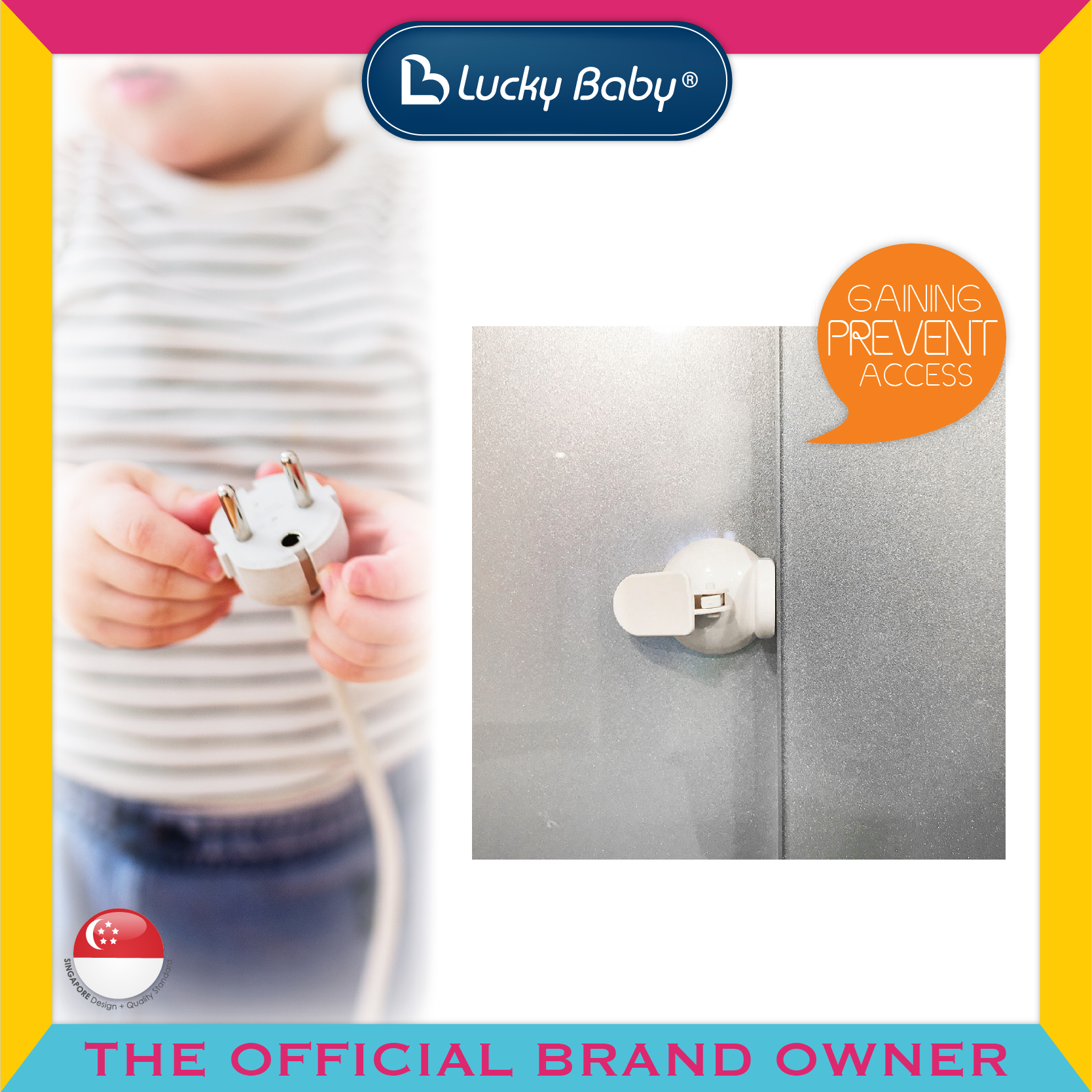 Lucky Baby® Safety™ Sliding Window Lock