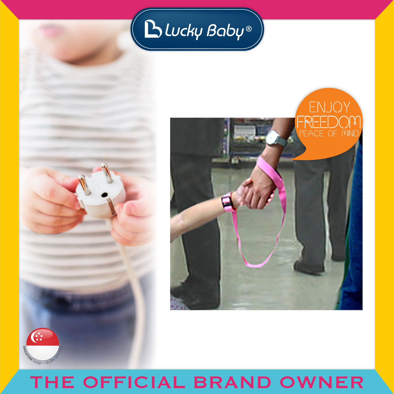 Lucky Baby® Safety™ Wrist Link