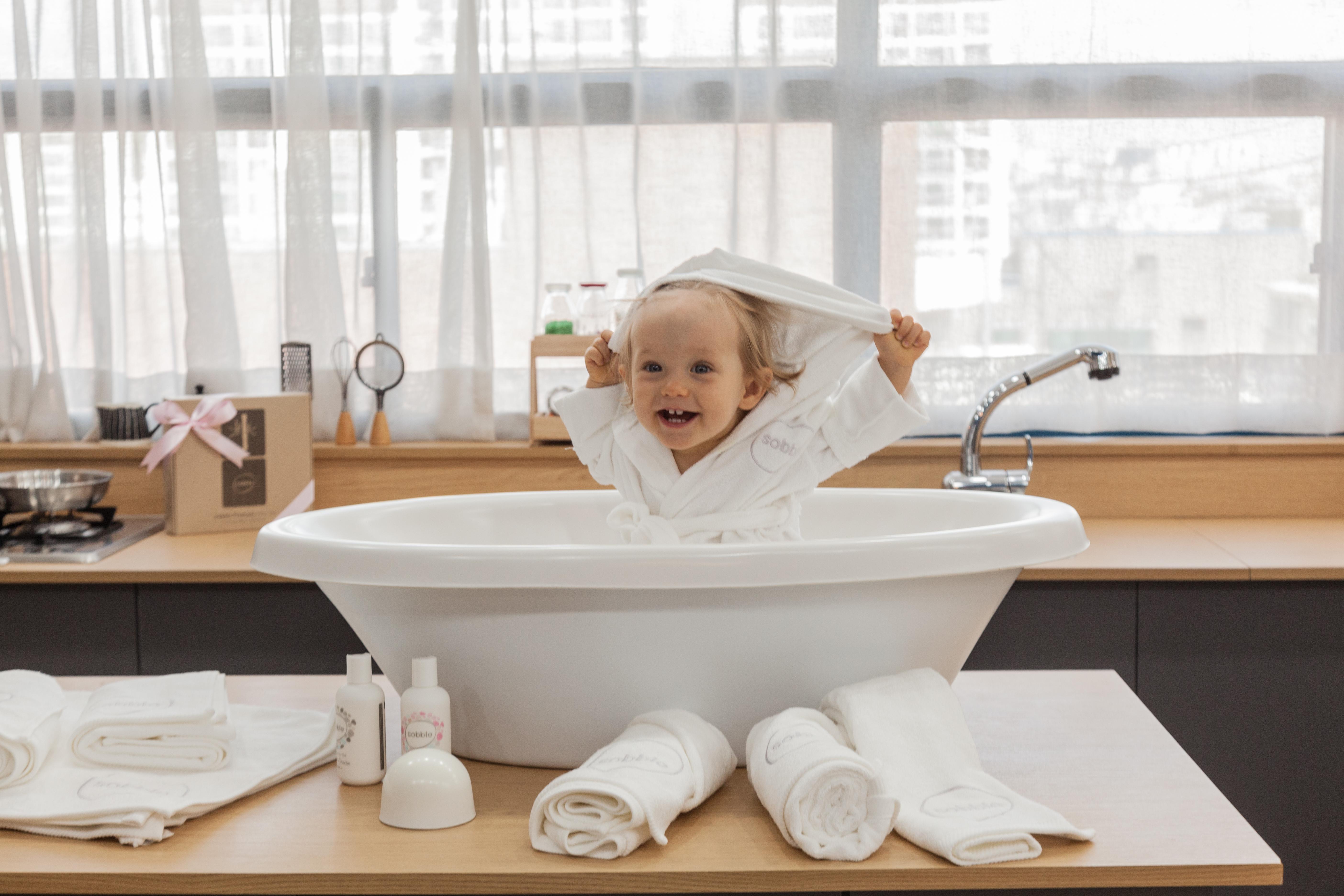 Cushion Baby Bathtub