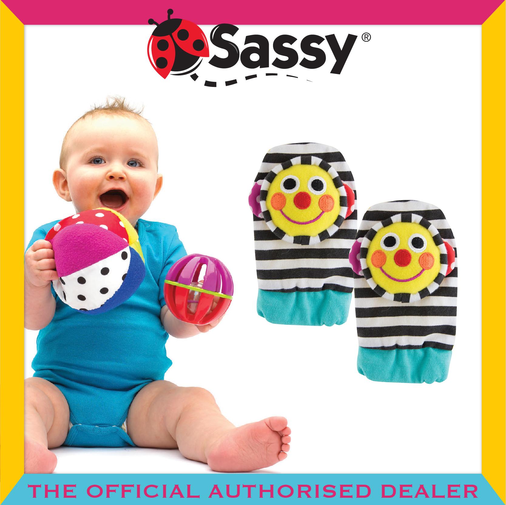 Sassy® Smiley Face Foot Socks