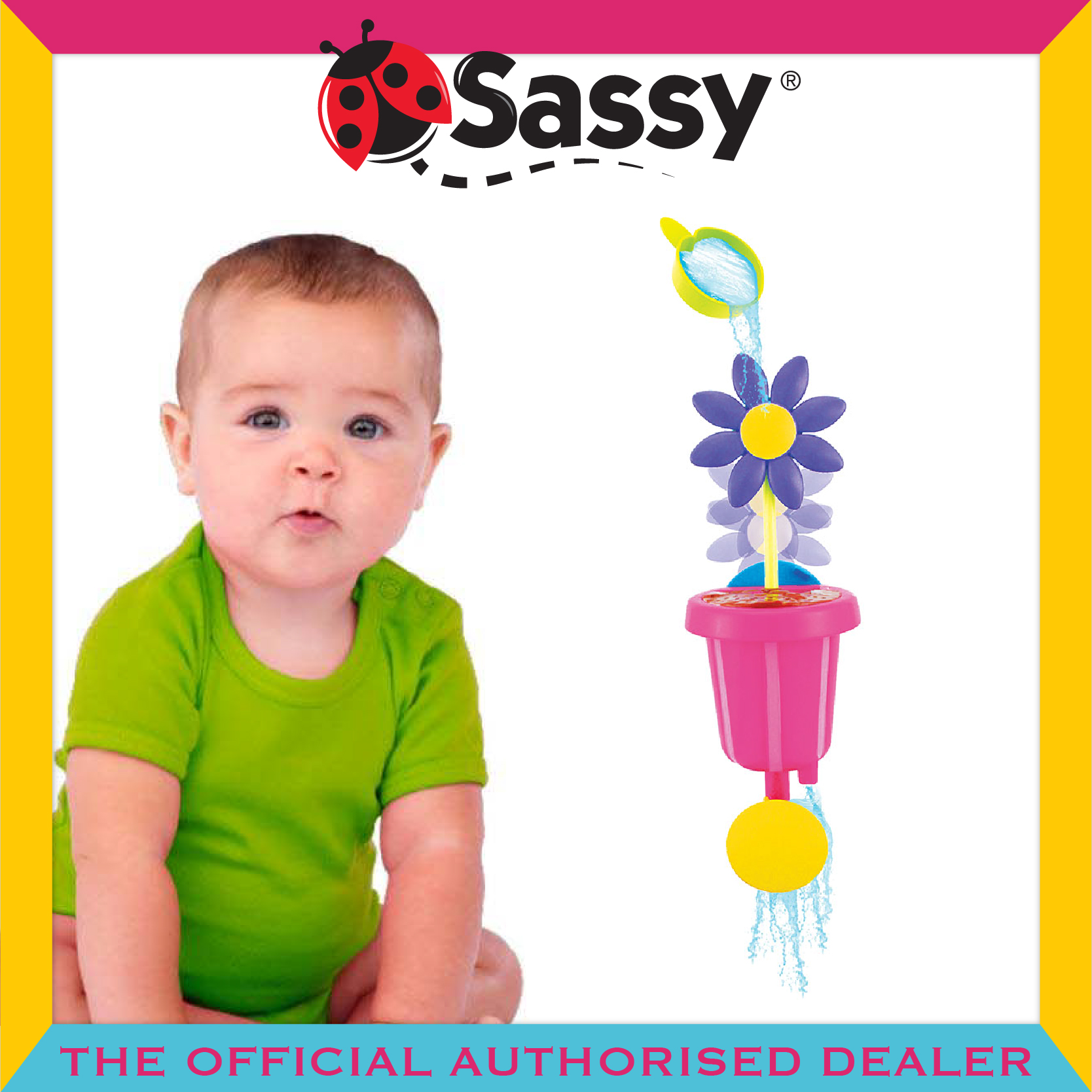 Sassy® Water & Grow Flower