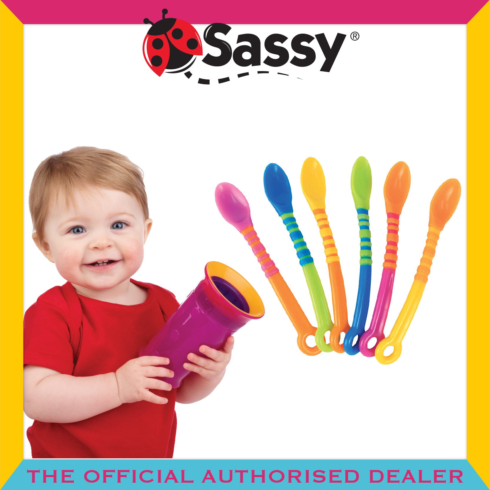 Sassy® First Solids Soft Tip Spoons