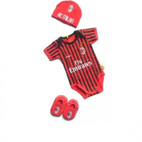 Baby Football Set 3 In 1 Ac Milan