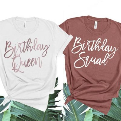 custom birthday t shirts