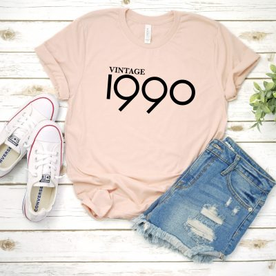 30th birthday shirts for her