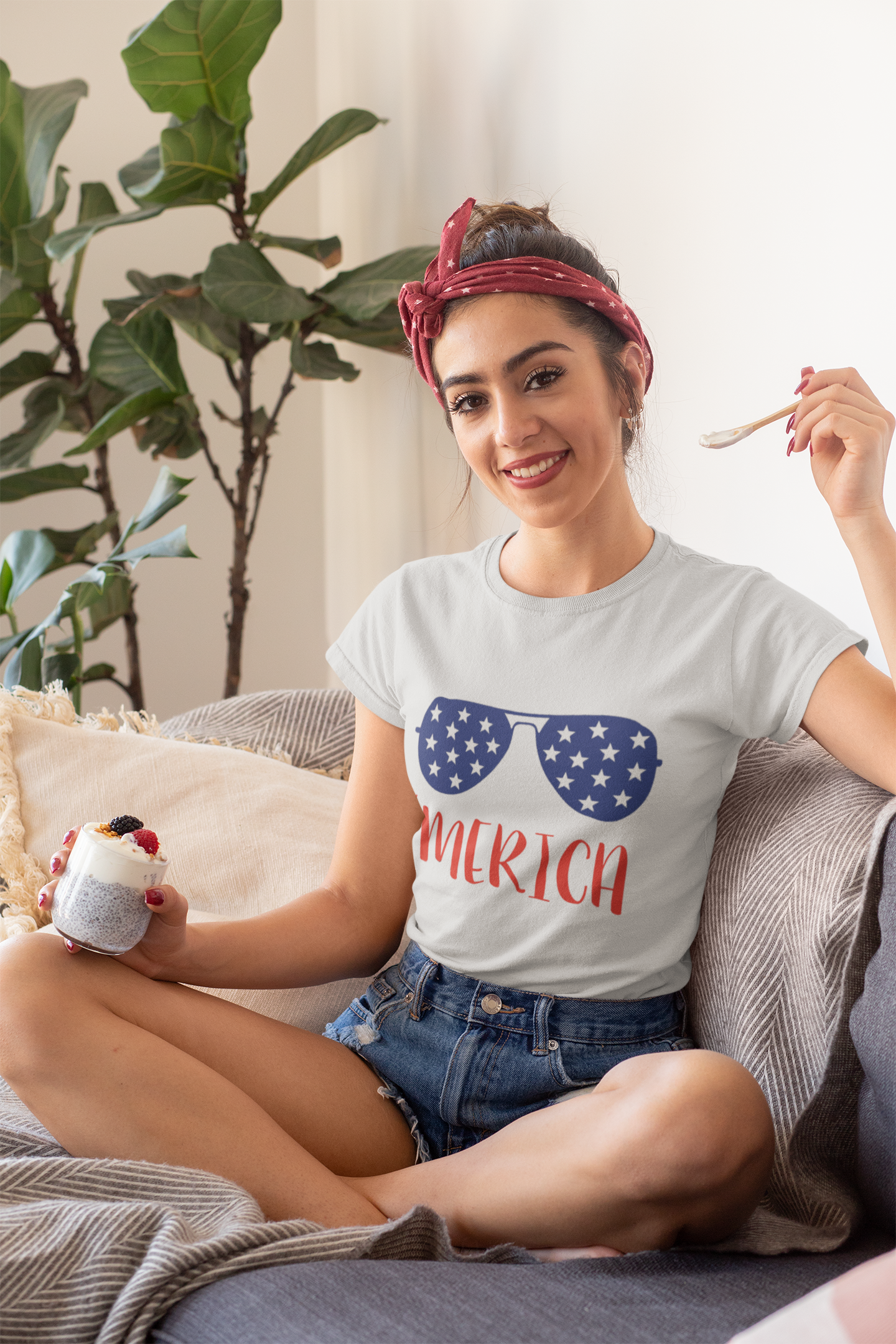 Fourth of July Shirt for Women
