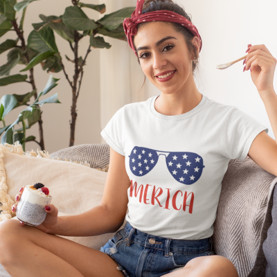 Fourth of July Merica Shirts - Unisex