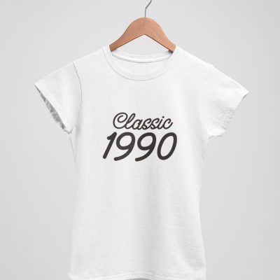 Classic 1990 - Birthday Shirt for Women