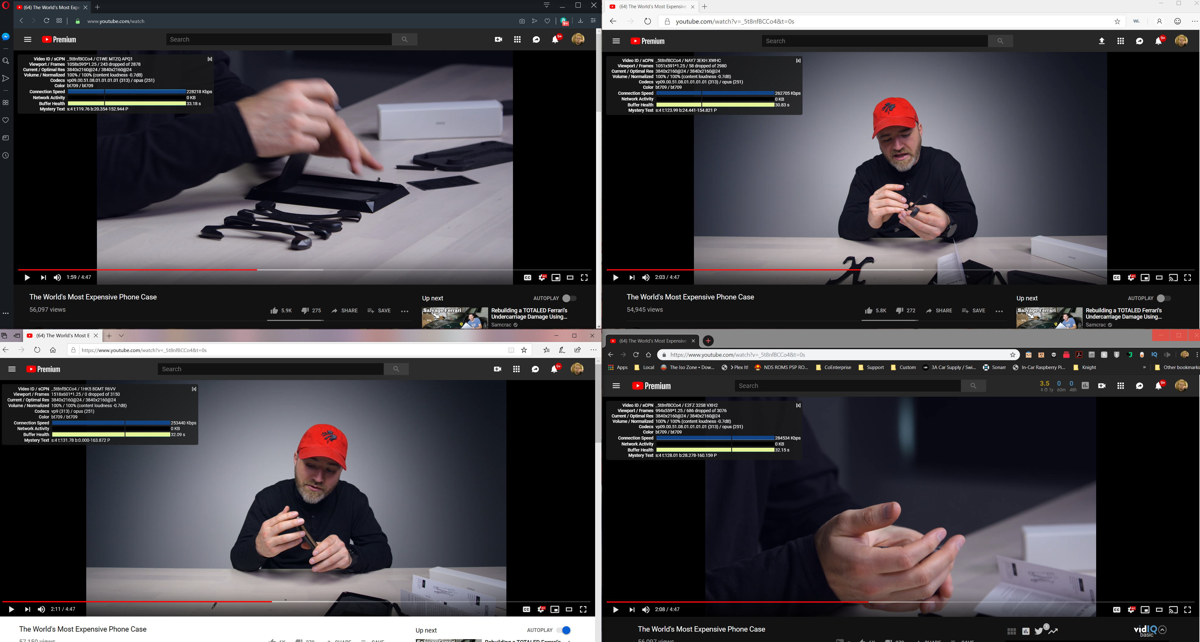 YouTube Stuttering/Dropping frames playback issue in chrome - Google