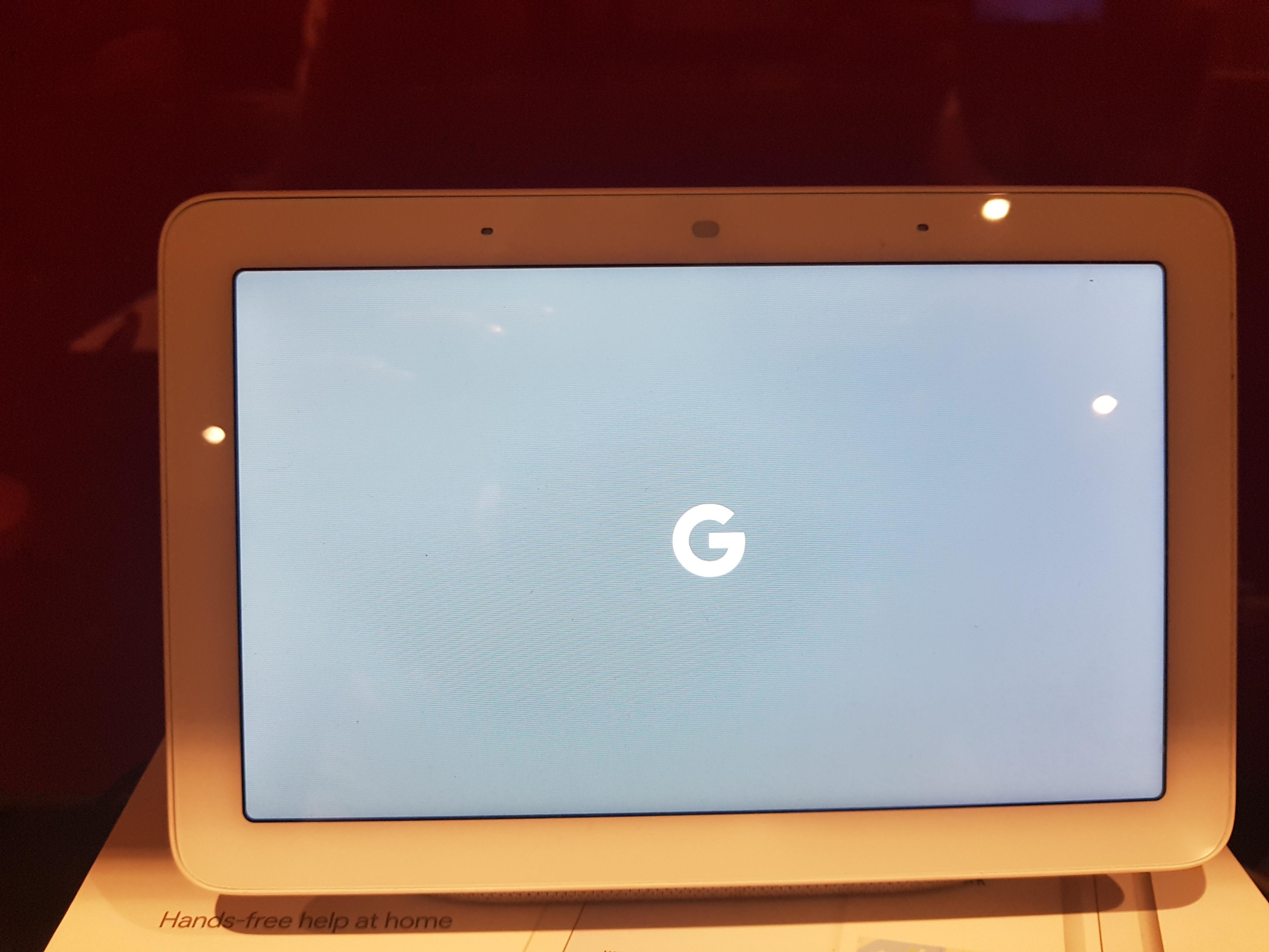 Stuck Bootloop on google home hub display, reset holding
