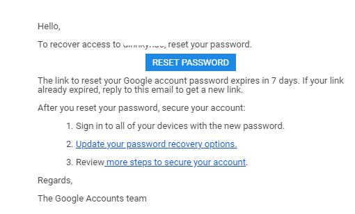 Tài khoản Gmail Bị Tấn Công, và Thay đổi Mail Khôi Phục và Số Điện