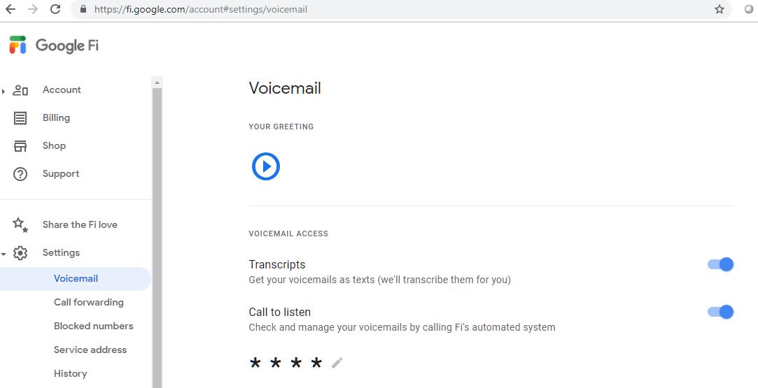 Pixel 3 voice mail text message notification - Google Fi Help
