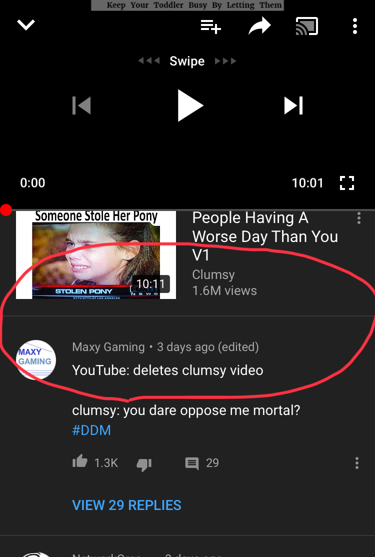 Can't post comments - YouTube Help