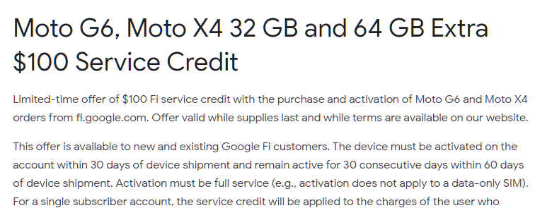 Is Moto X4 XT1900-1 fully compatible with Google Fi