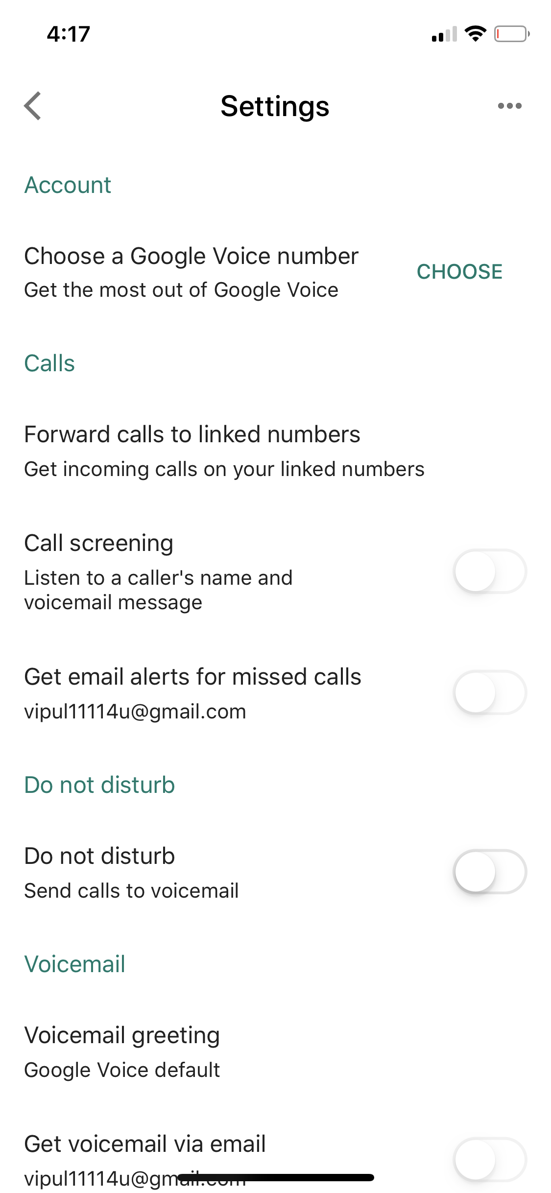 Unable to retrieve my google voice number - Google Voice Help