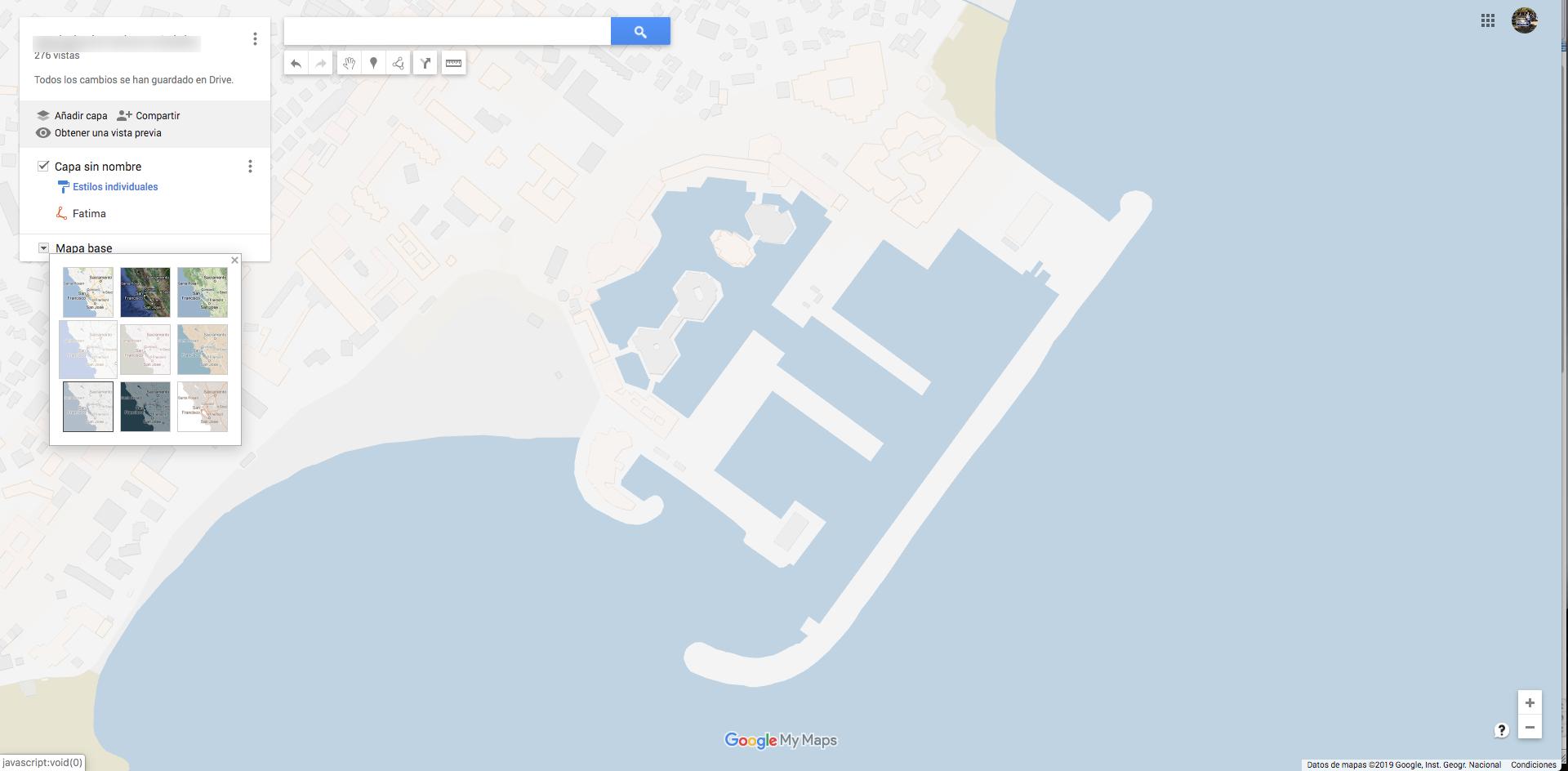 Crear Un Mapa Personalizado.Quisiera Un Mapa Sin Etiquetas Pero En El Sitio Web Oficial