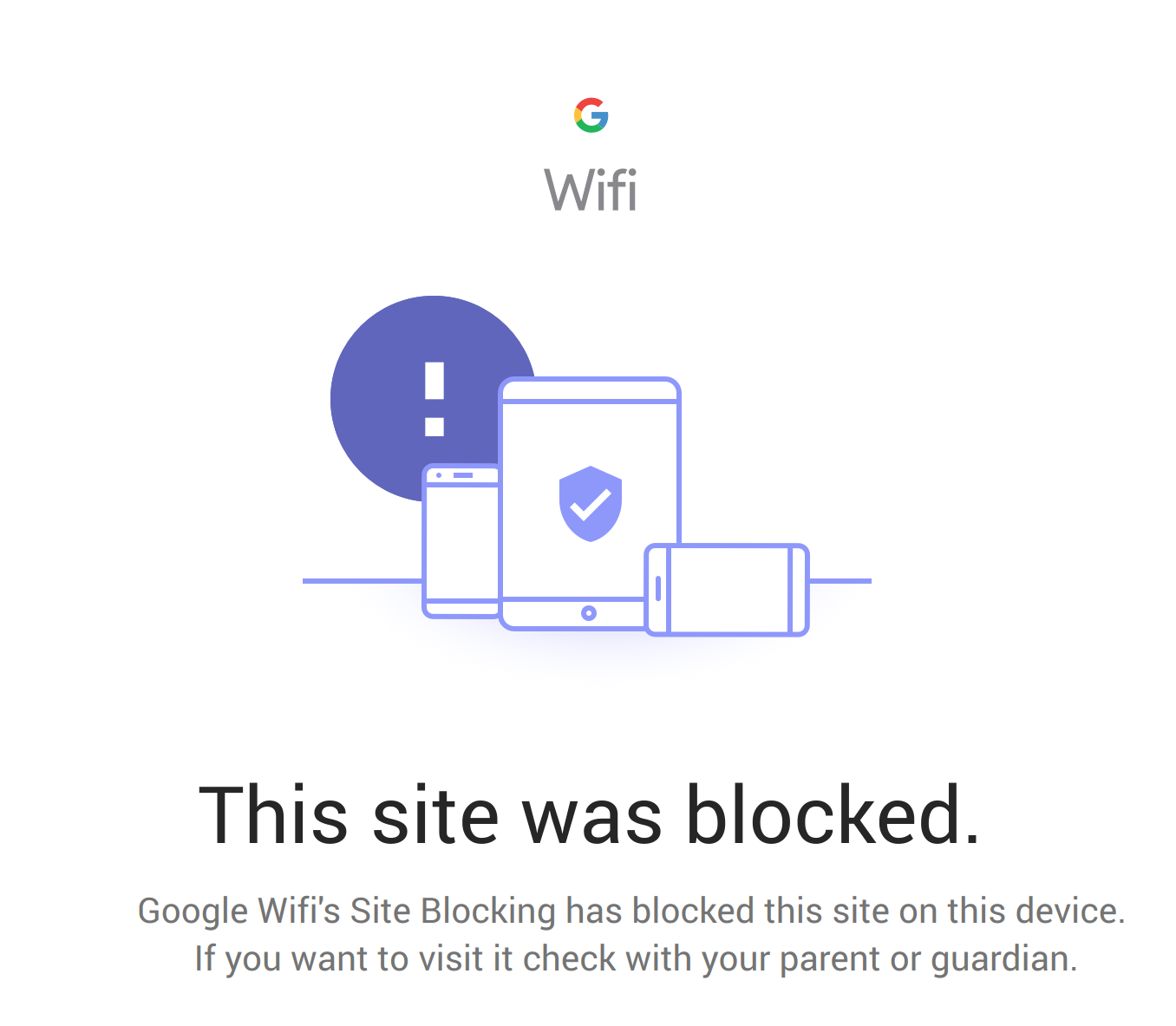 My google safesearch is not blocking incognito searches from