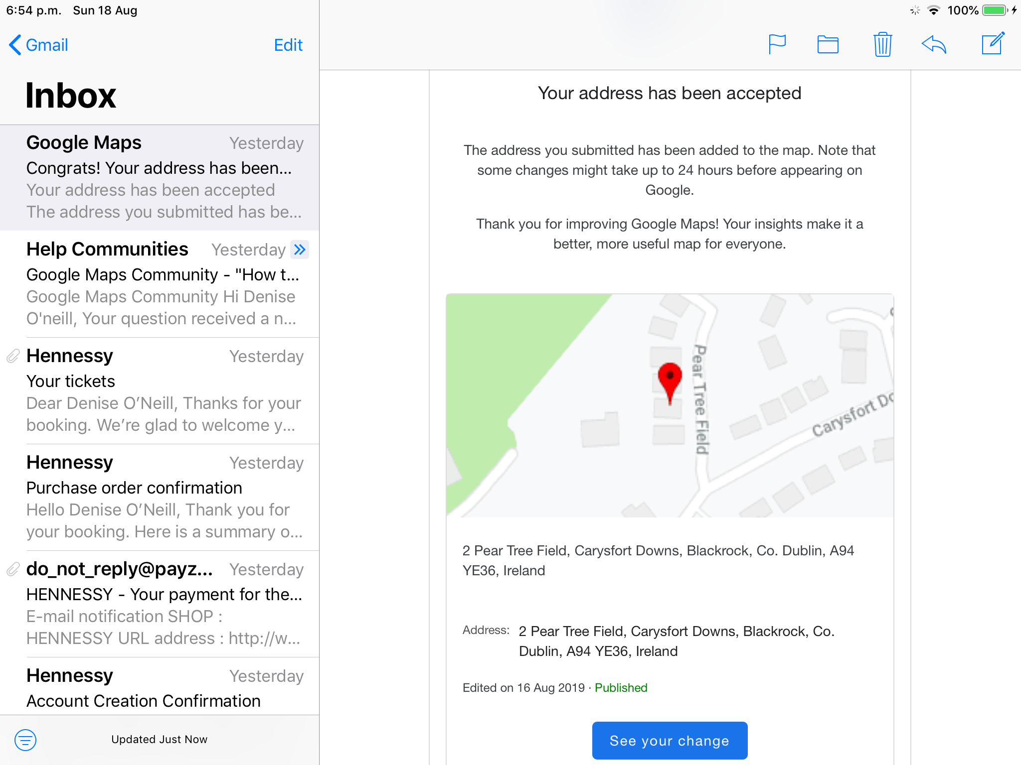 How to correct my address on google maps - Google Maps Help Show Address In Google Maps on google aerial view of property, google web address, instagram address, google home address, gmail address,
