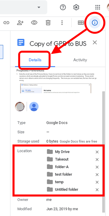 How to unassign a folder from 'My Drive'? - Google Drive Help