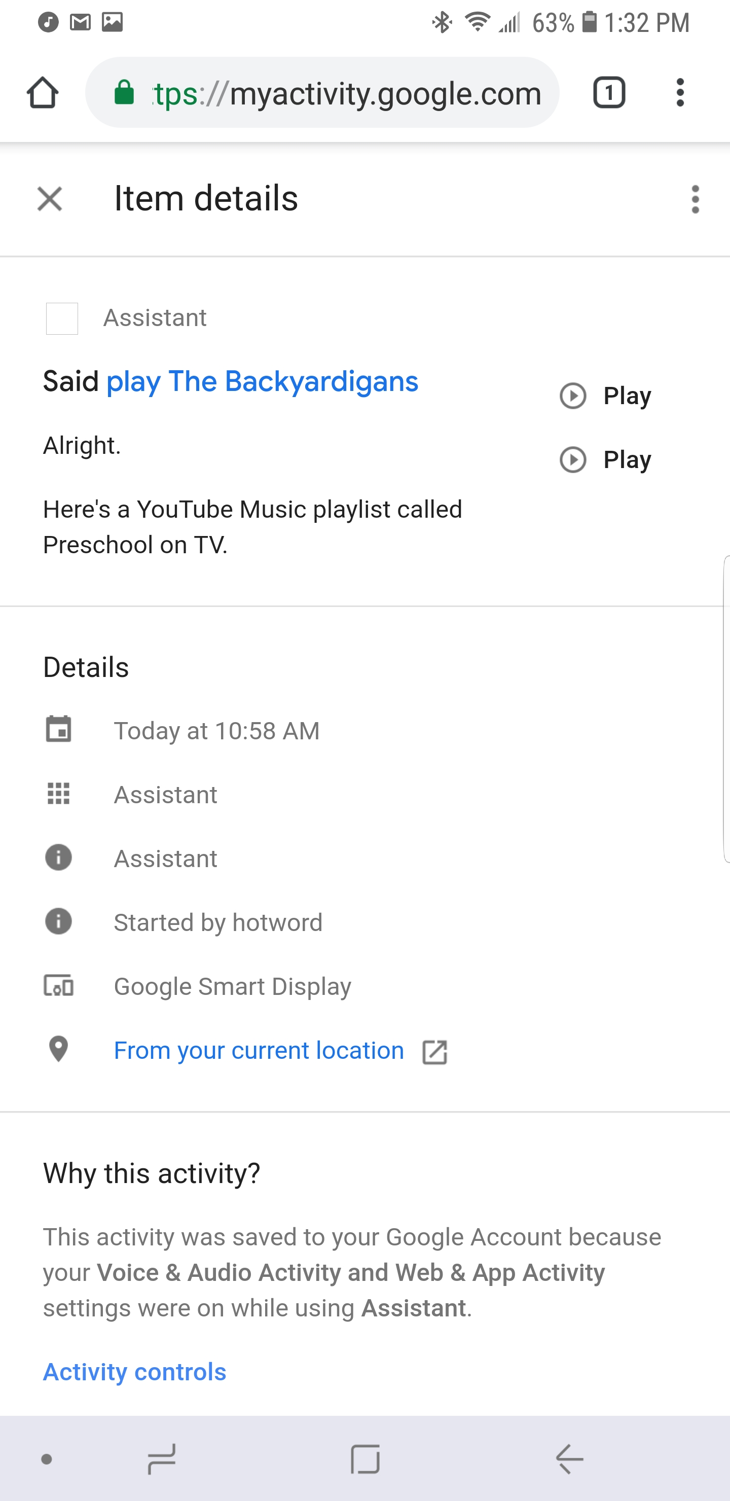 Google Play Movies & TV not working on Google Home  - Google