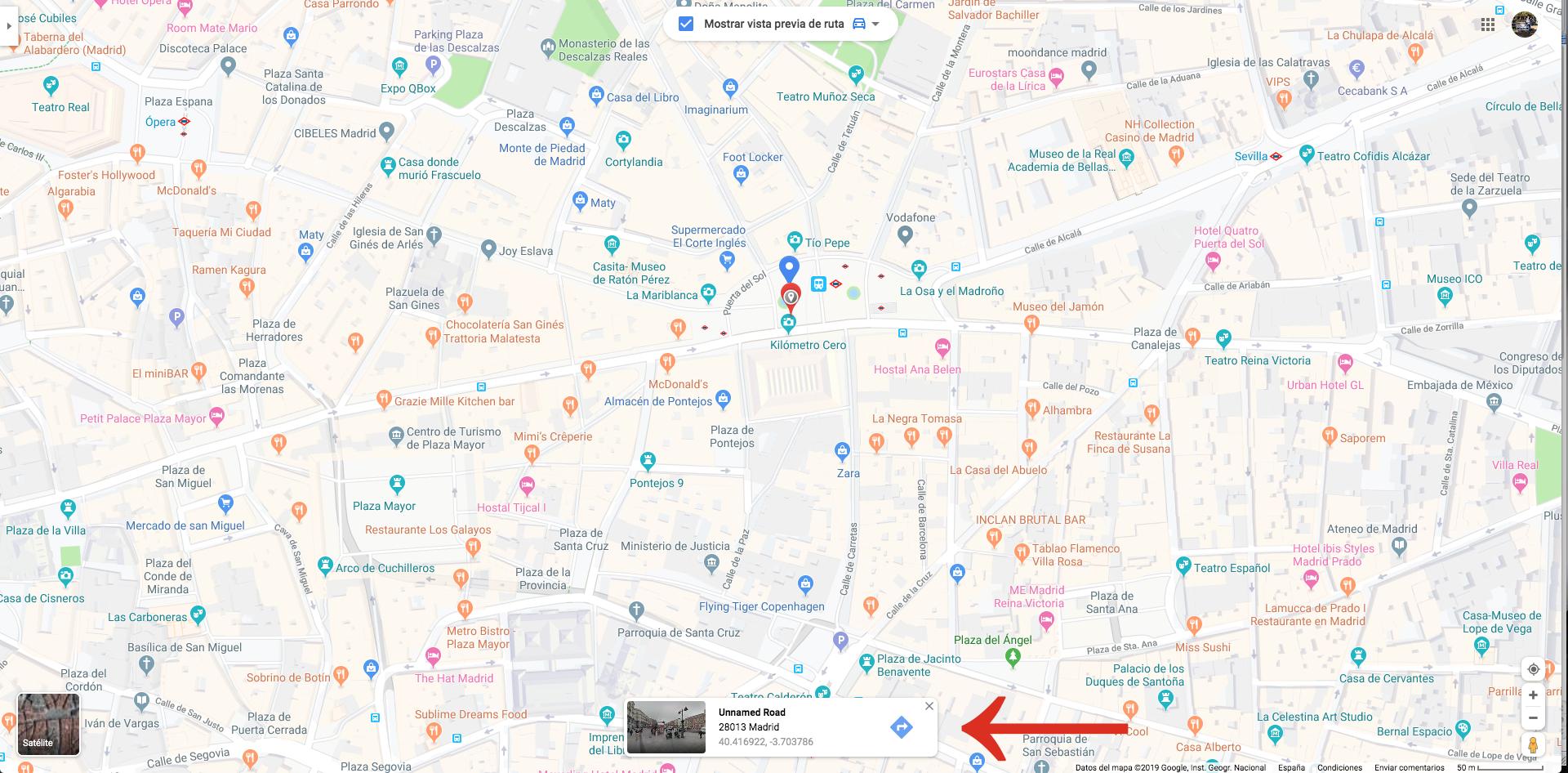 Mapa Comunidad De Madrid Por Codigos Postales.Como Puedo Encontrar Mi Codigo Postal Ayuda De Google Maps
