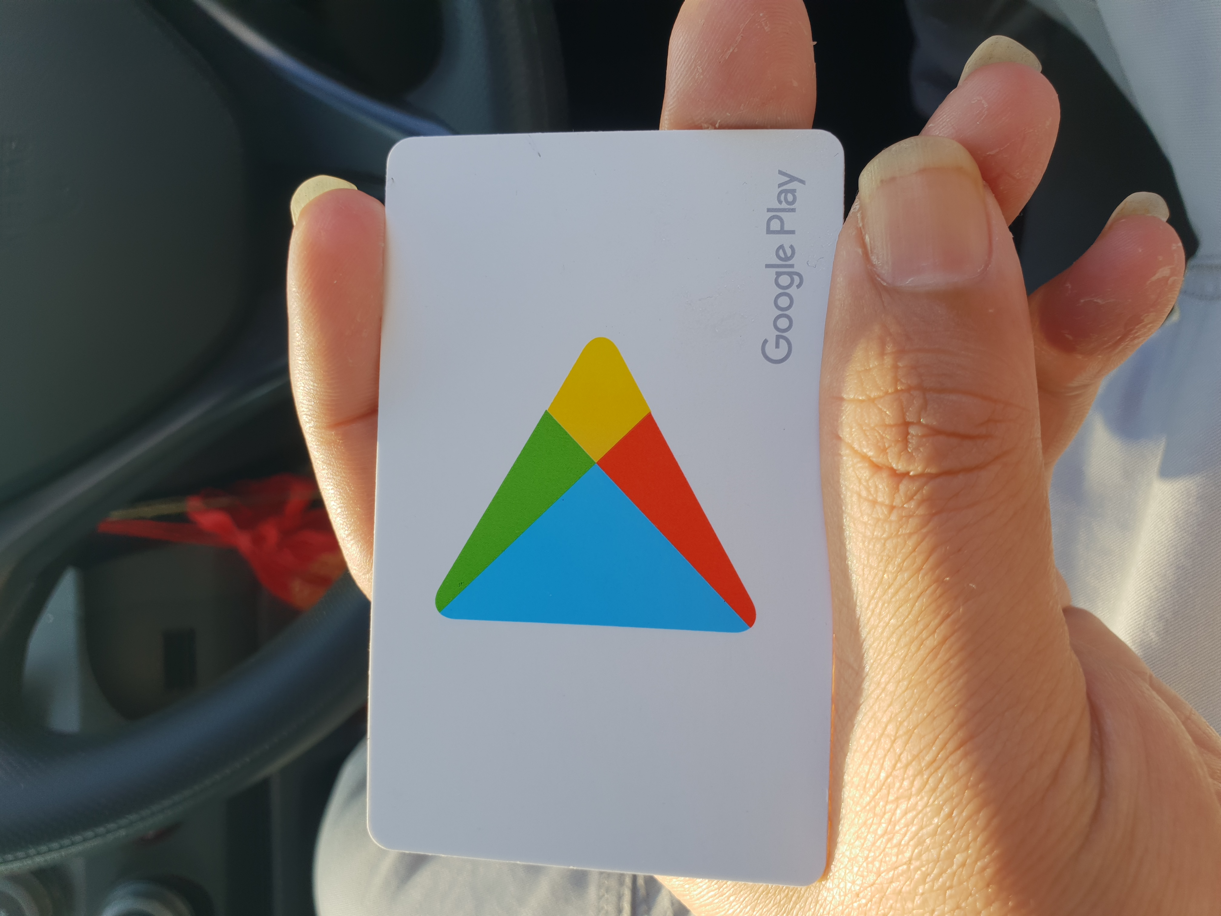 My Google Play Card I Can T Redeem It
