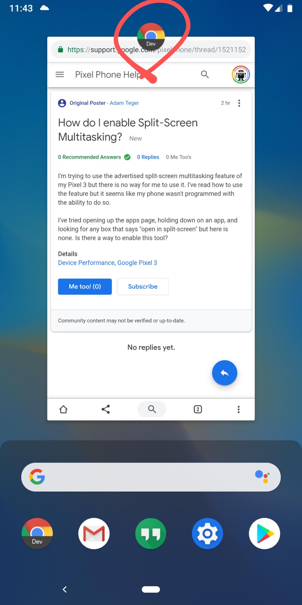 How do I enable Split-Screen Multitasking? - Pixel Phone Help