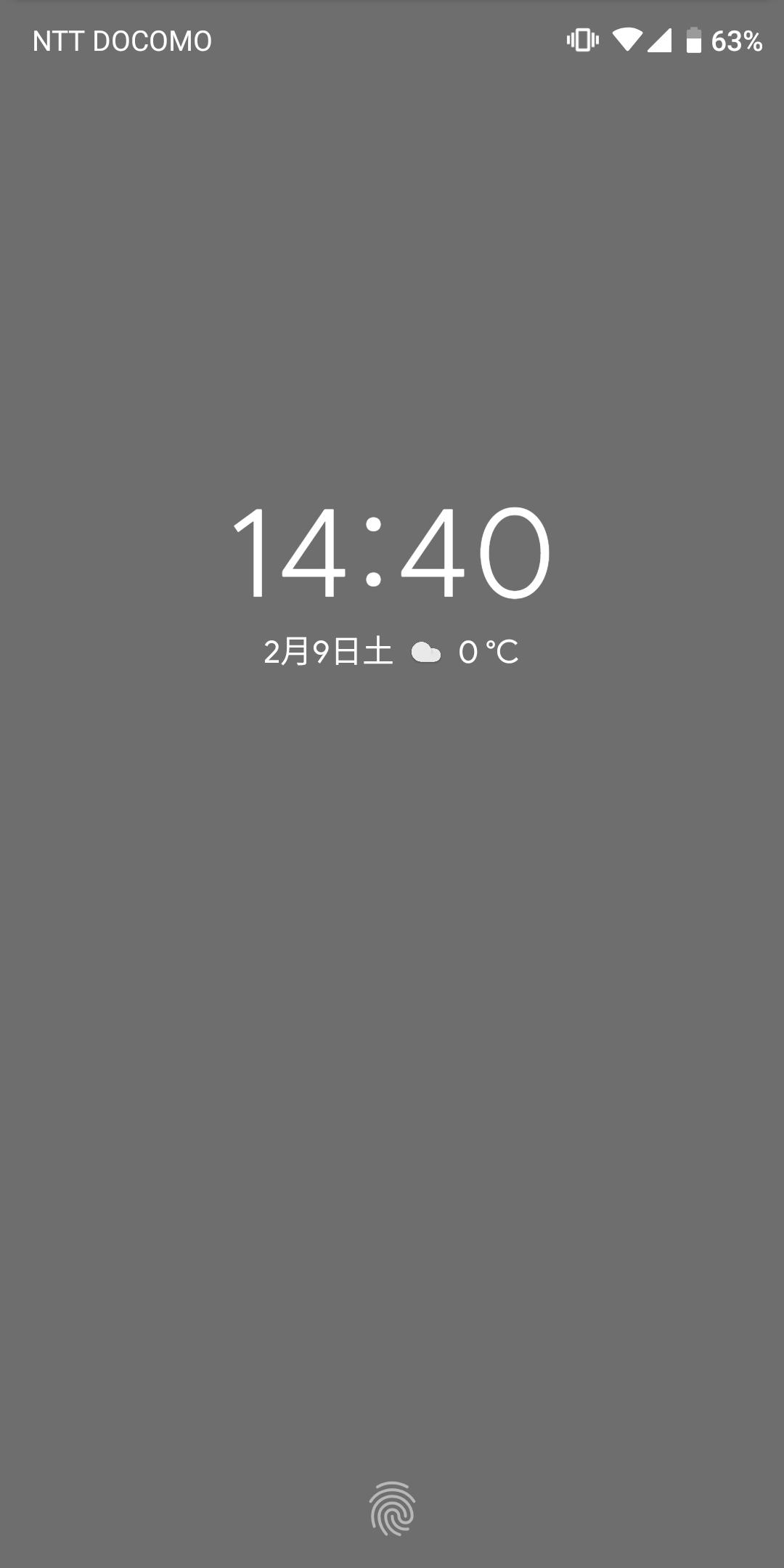 ロック画面の時計の文字色が見づらい Pixel Phone Community