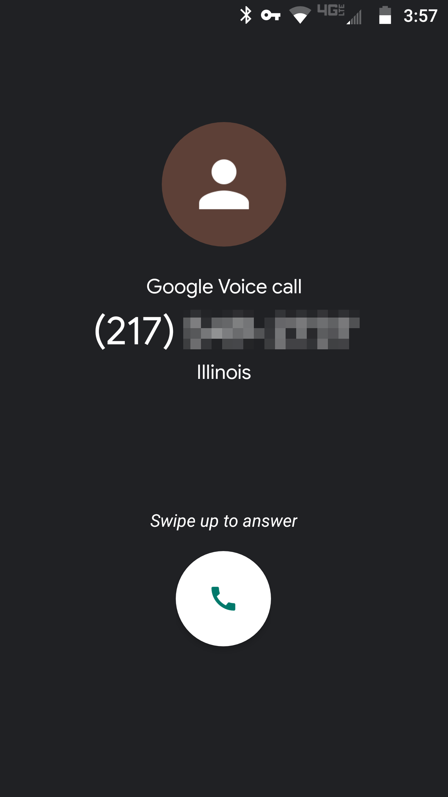How can I instantly know if an incoming call is to my iPhone