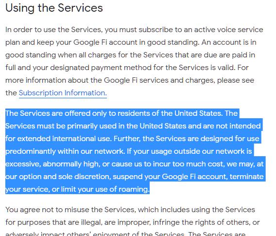 Activation - Google Fi Help