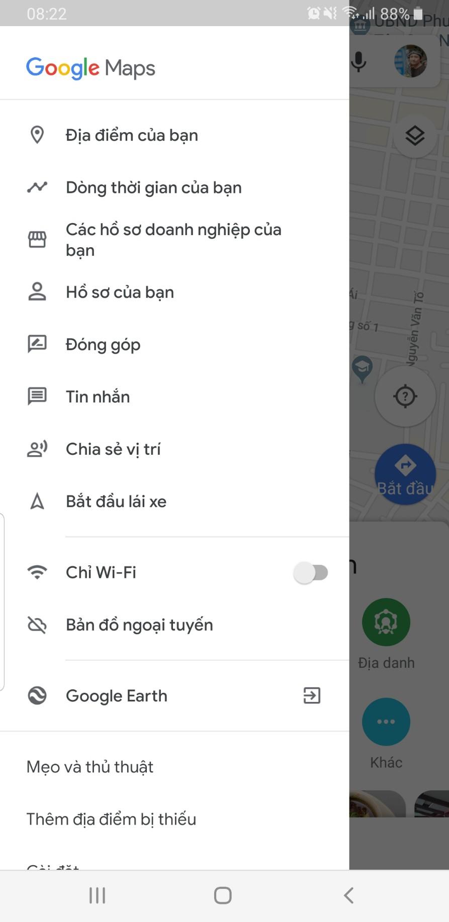 làm cách nào lấy lại vị trí mình đã đi qua - Maps Community