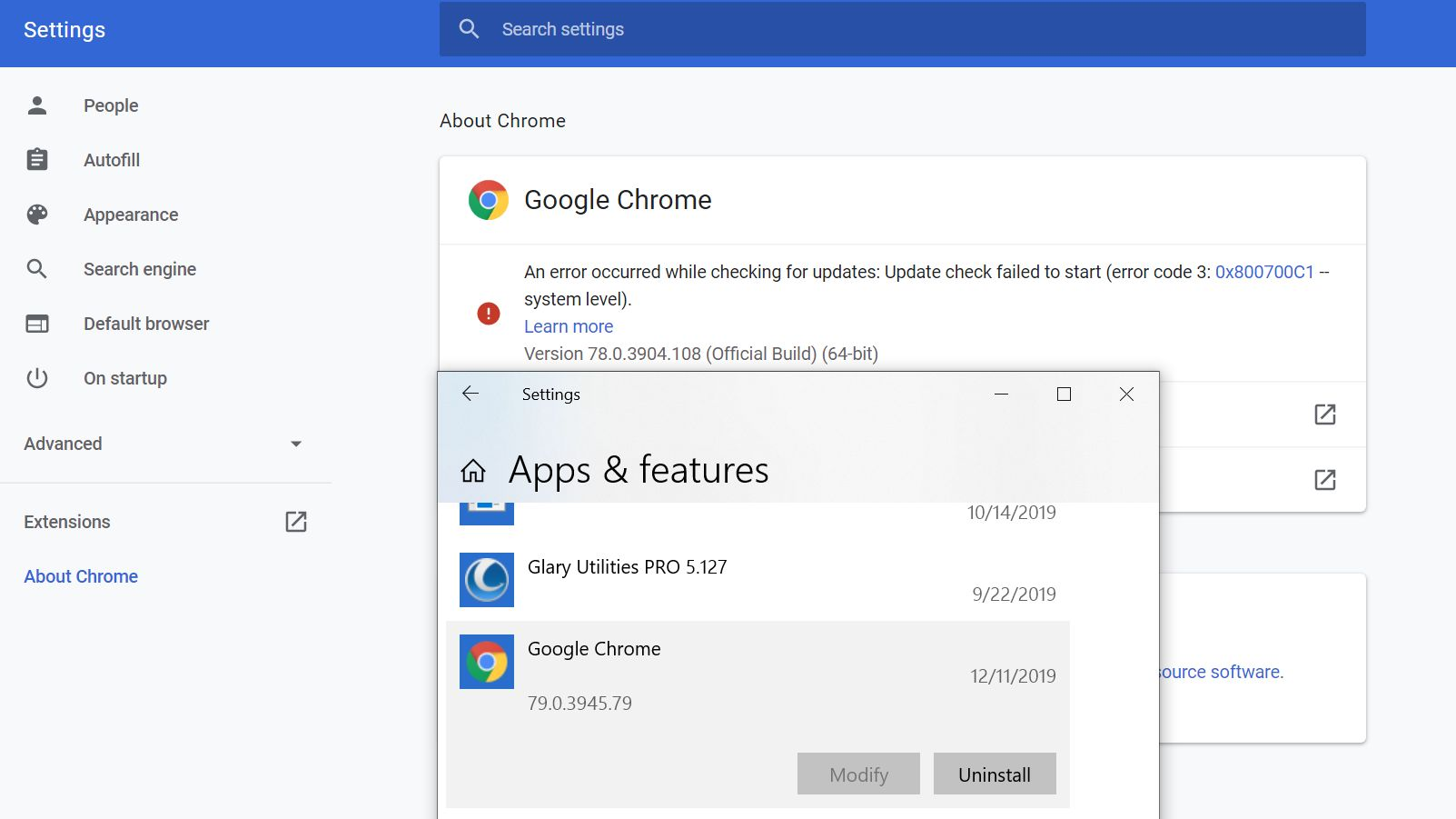 Can T Update Chrome Downloaded And Can T Install It Either