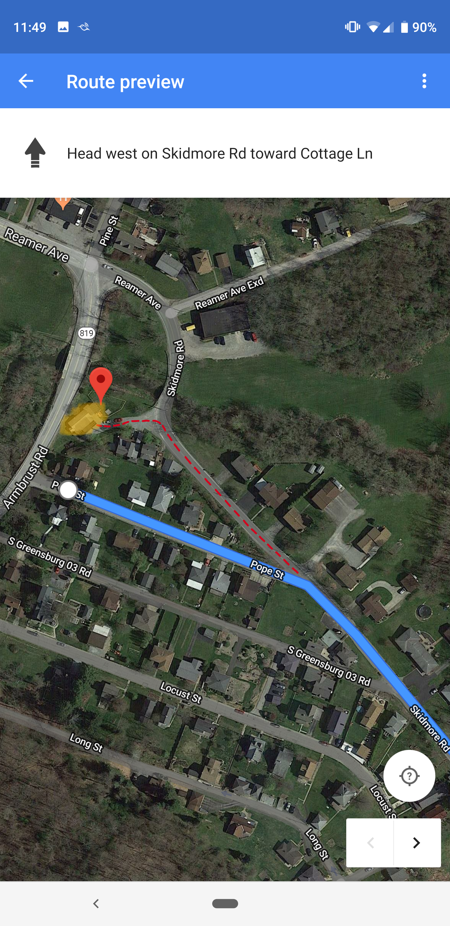 How To Fix Directions To My Home Showing Incorrectly Google Maps Community