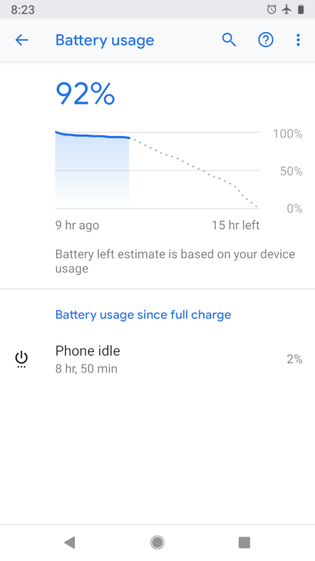 Is anyone experiencing immediate battery drain after a full charge