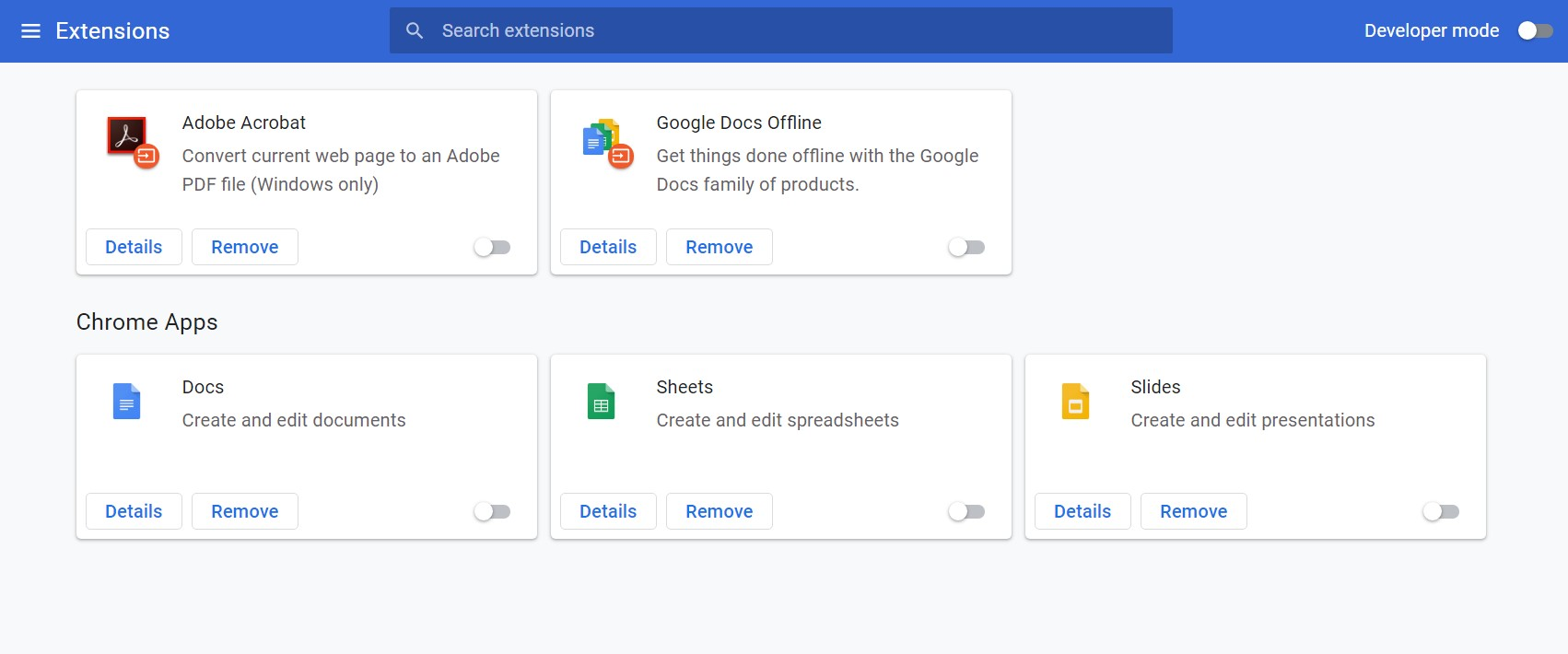 Extension and apps keep coming back in Chrome - Google