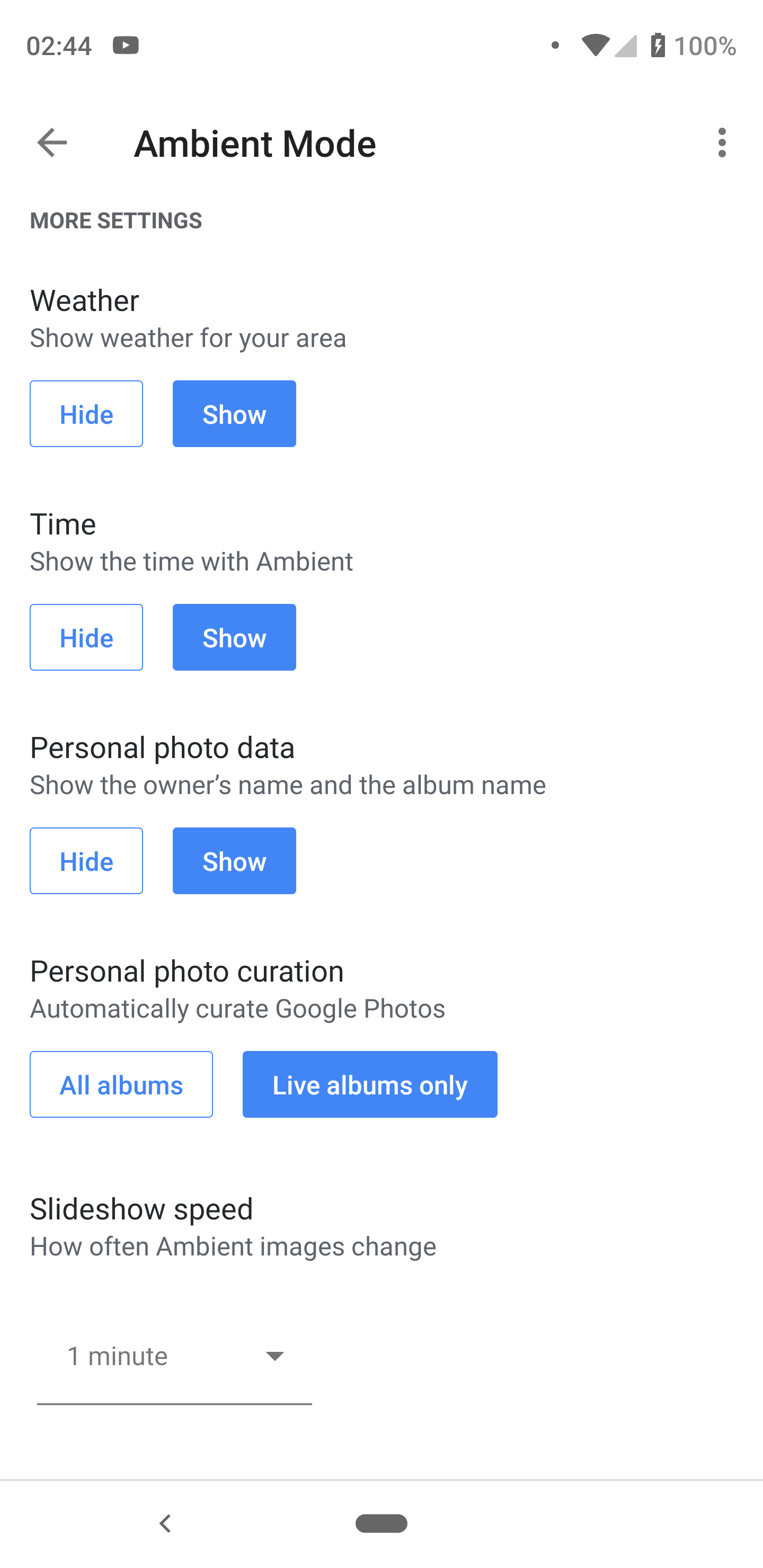 I have 35 images in my Google photo album only 5 show on Google home