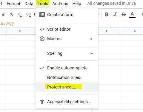 How Do I Unprotect A Shared Google Sheet Google Docs Editors Community