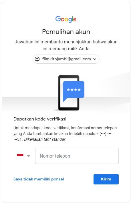 Mengembalikan Akun Gmail Yang Di Hack Komunitas Akun Google