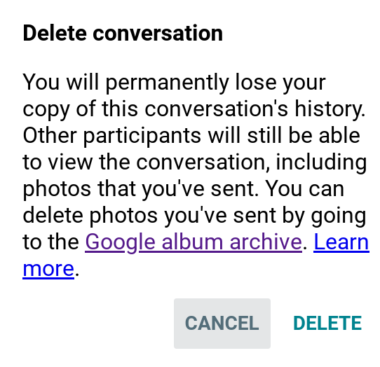 How to recover deleted Hangouts conversation? - Hangouts Help