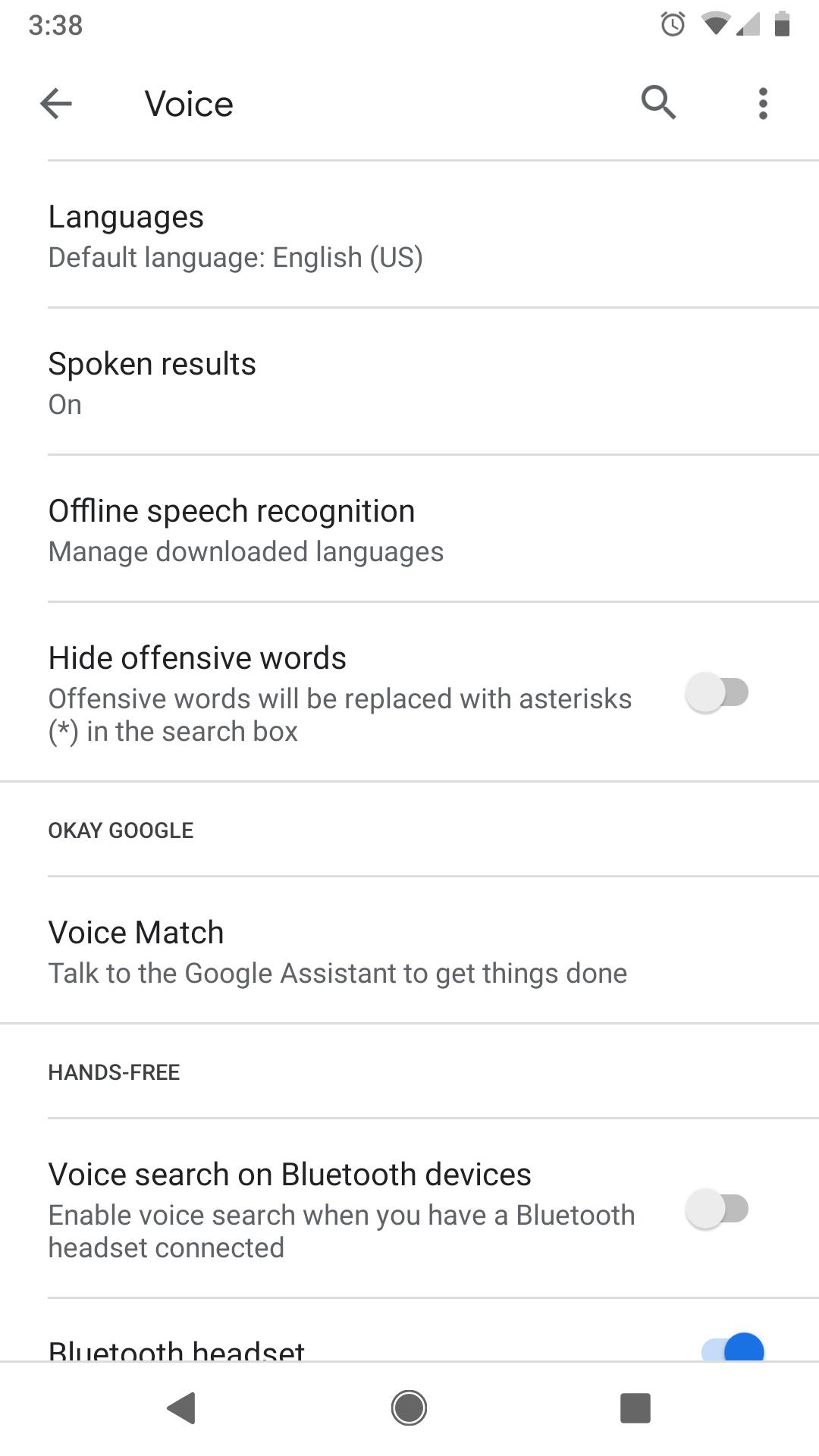 Profanity Filter won't turn off - Pixel Phone Help