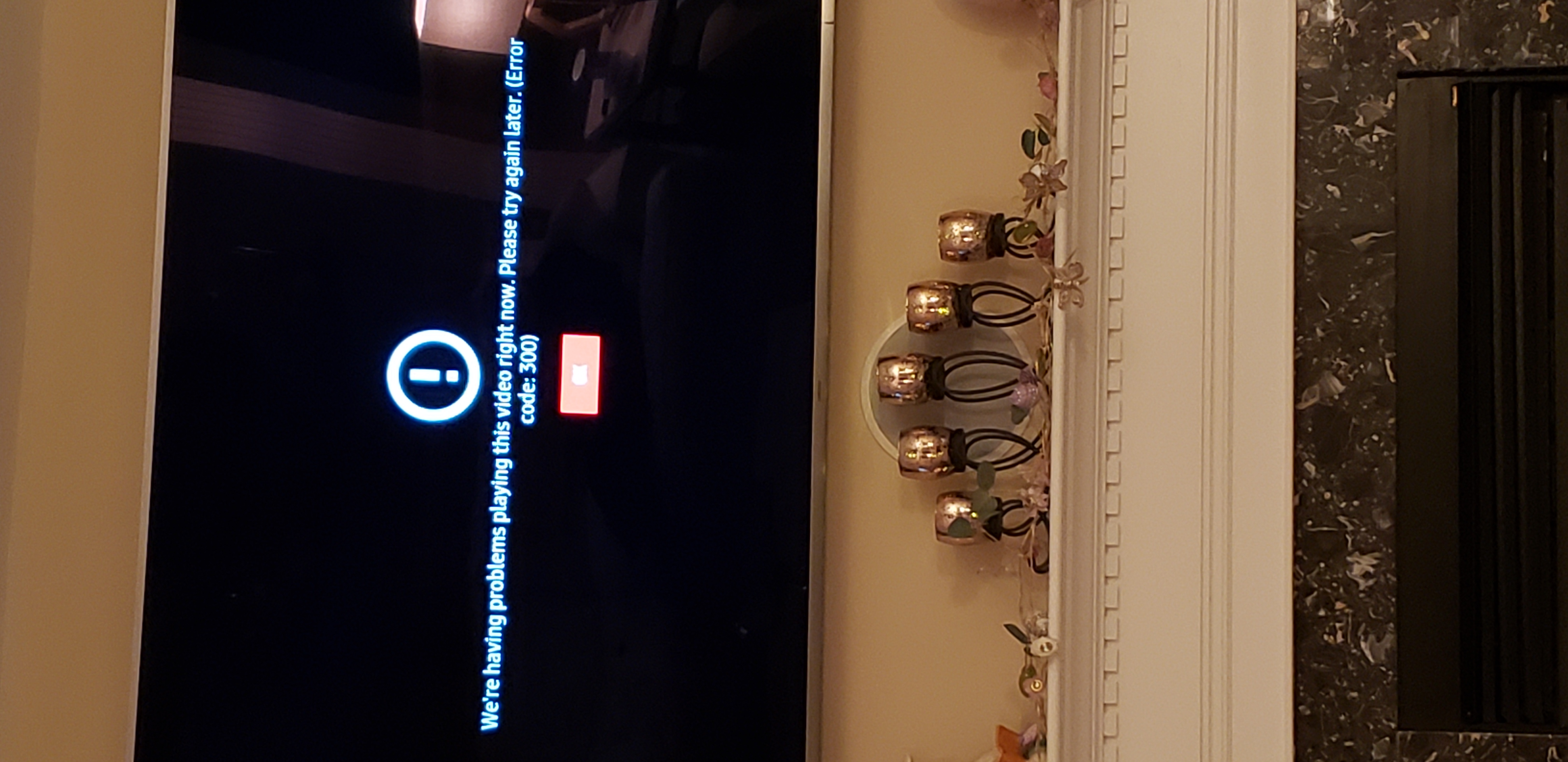 Movie will not play get error code 300 - Google Play Help