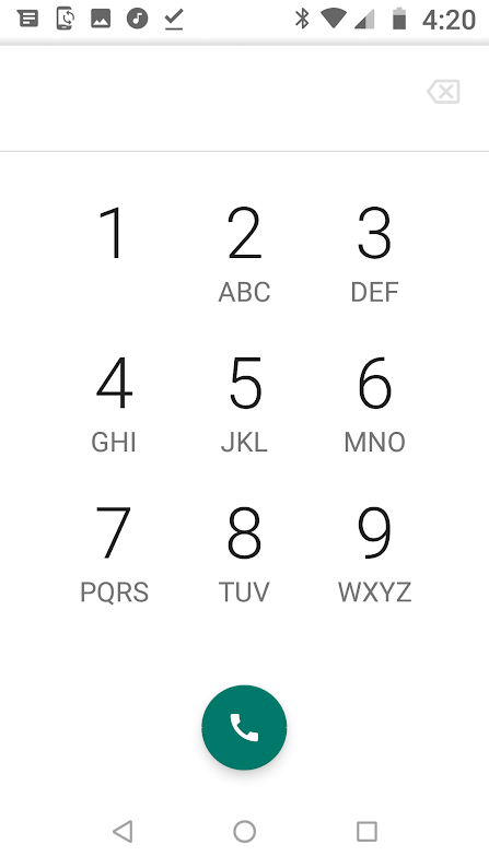 The 0, *, # keys are now missing from my number dial pad